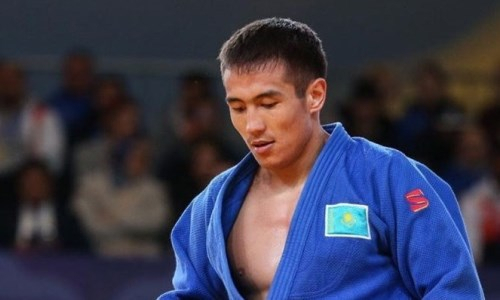 Казахстанский дзюдоист победил двукратного призера чемпионата мира на старте Олимпиады-2020