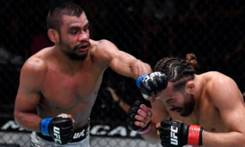 Обидчик Жумагулова после победы над ним выиграл со-главный бой турнира UFC. Видео