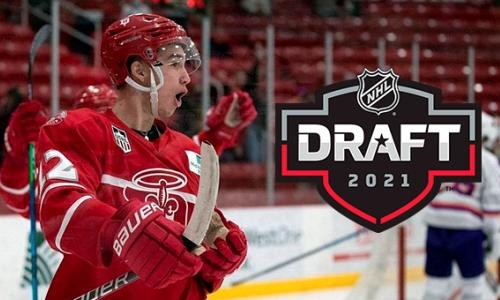 Казахстанский хоккеист выбран на драфте НХЛ впервые за 17 лет