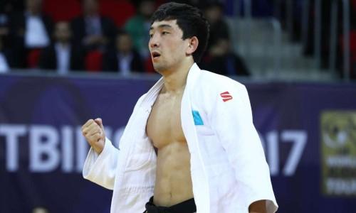 Дзюдоист Смагулов начал выступление на Олимпиаде-2020 с победы над чемпионом Европы