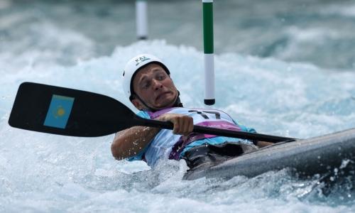 Казахстанский каноист не пробился в финал Олимпийских игр-2020