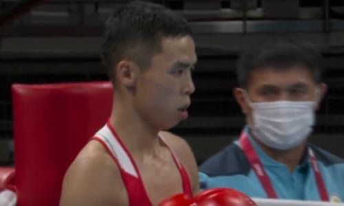 Казахстан одержал третью победу в боксе на старте Олимпиады-2020