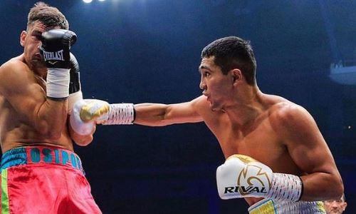 Казахстанский профи-боксер начал подготовку к следующему бою
