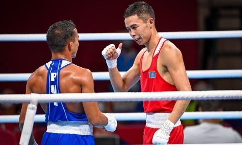 Казахстанский боксер сразится с призером чемпионата мира в 1/8 финала Олимпиады-2020