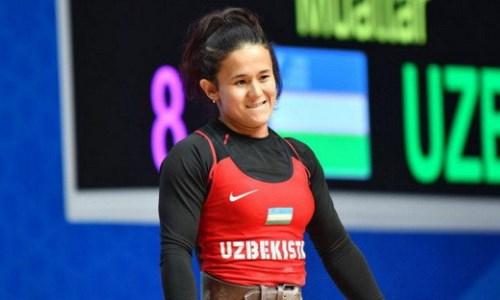 Узбекская соперница тяжелоатлетки Чиншанло установила олимпийский рекорд в Токио