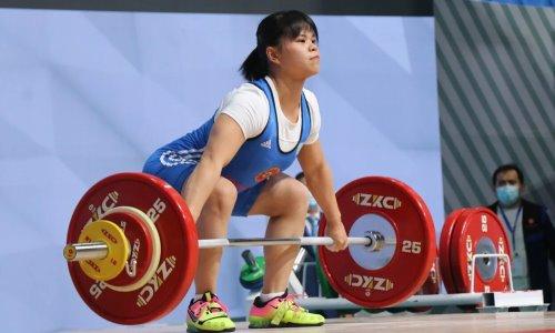 Тяжелоатлетка Чиншанло заказала максимальный вес для первого подхода в толчке на Олимпиаде в Токио