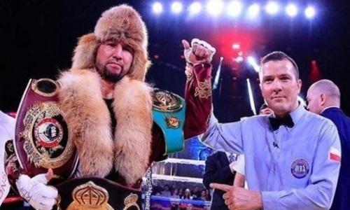 Непобежденный казахстанский боксер выступил с обращением к президенту WBA
