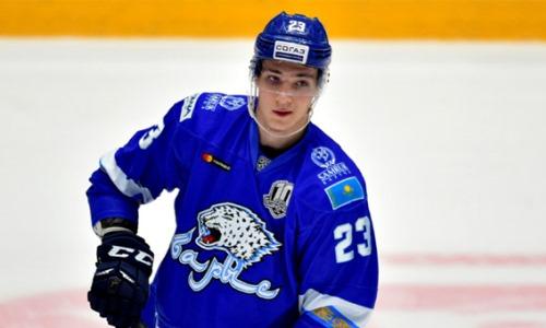 Бывший хоккеист «Барыса» вернулся в «Сарыарку»