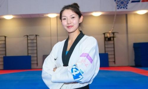 Казахстанская тхэквондистка стартовала с победы на Олимпиаде-2020