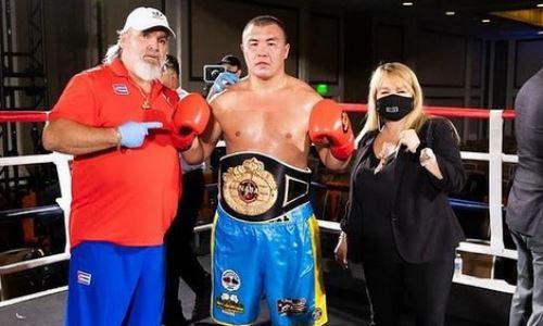 Казахстанский «Панда» узнал дату возвращения на ринг после завоевания титула