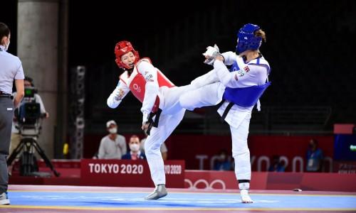 Казахстанская тхэквондистка проиграла трехкратной чемпионке мира на Олимпиаде-2020