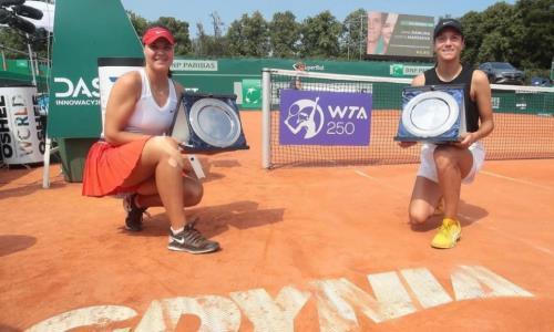 «До сих пор не могу поверить». Казахстанка оценила свой первый титул серии WTA