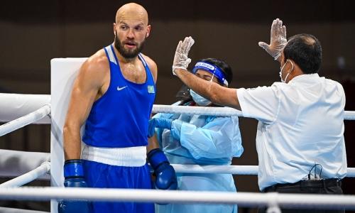 Василий Левит сенсационно нокаутом проиграл первый же бой на Олимпиаде-2020