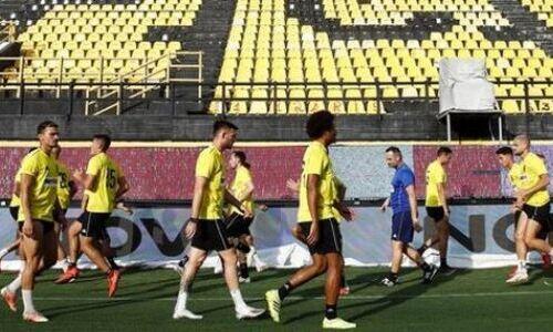«Арис» начал подготовку к ответному матчу с «Астаной» в Лиге Конференций. Фото