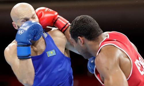 «Я убью этого п***ка». Казахстанского боксера жестко оскорбили перед нокаутом на Олимпиаде