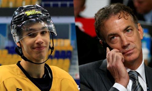«Я забыл весь свой английский». Казахстанский хоккеист рассказал о звонке легенды из НХЛ