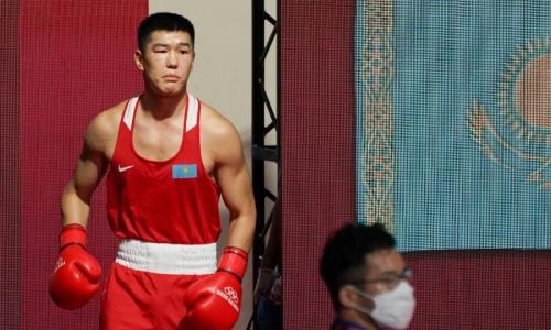 Чемпион мира по боксу из Казахстана покидает Олимпиаду-2020 после первого же боя