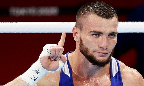 «Не все получалось, как хотелось». Имам Хатаев остался не совсем доволен победой над чемпионом мира из Казахстана на Олимпиаде-2020
