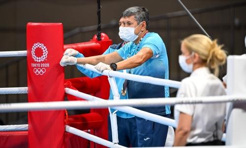 «Случилось то, что случилось». Галым Кенжебаев ответил за вылет Жусупова, Нурдаулетова и Левита в первых же боях Олимпиады в Токио