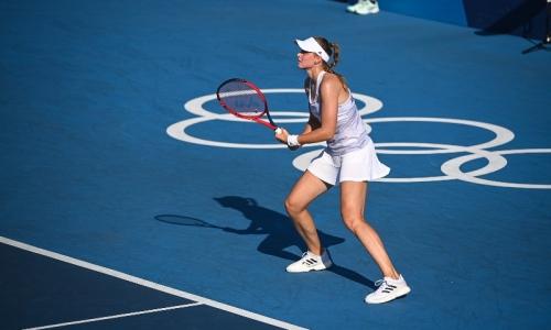 Теннисистка Рыбакина обыграла экс-первую ракетку мира и вышла в полуфинал Олимпиады-2020