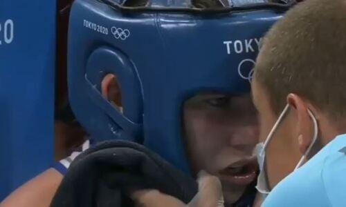 «Для чего мы здесь?». Казахстанская боксерша получила эмоциональный заряд перед решающим раундом на Олимпиаде. Видео