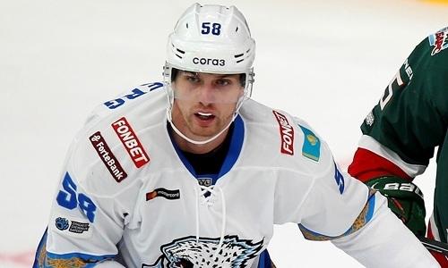 Защитник сборной Казахстана определился со своим игровым номером в новом клубе после «Барыса»