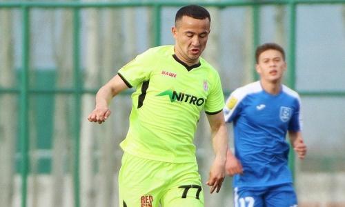 Казахстанский футболист нашел новую команду в Кыргызстане