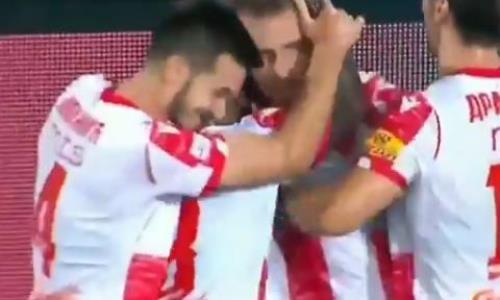 Видео второго гола Катаи матча Лиги Чемпионов «Црвена Звезда» — «Кайрат»