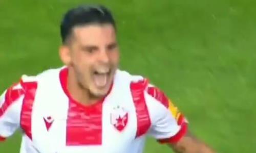 Видео гола Фалько матча Лиги Чемпионов «Црвена Звезда» — «Кайрат»