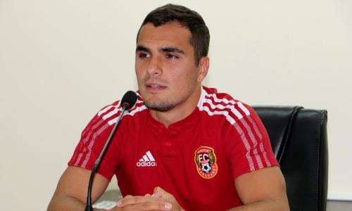 «Другого пути у нас нет». Наджарян рассказал об ответном матче с ФКСБ и вызове в сборную Армении