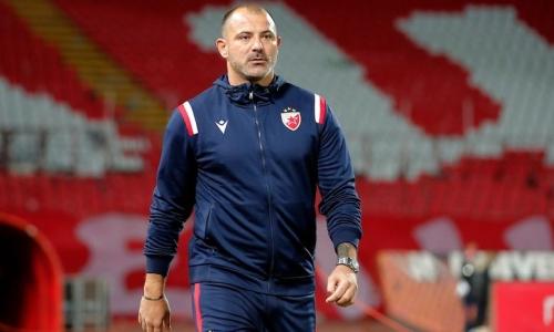 Тренер «Црвены Звезды» прокомментировал разгром «Кайрата» в Лиге Чемпионов