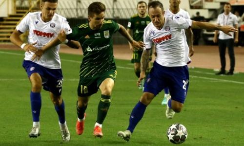 Прямая трансляция матча «Тобол» — «Хайдук» в Лиге Конференций