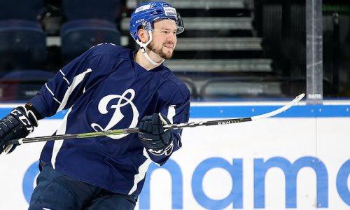 Форвард с опытом игры в НХЛ стал одноклубником воспитанника «Барыса»