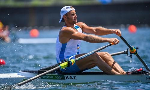 Казахстанский гребец стал пятым в полуфинальном заплыве Олимпиады-2020
