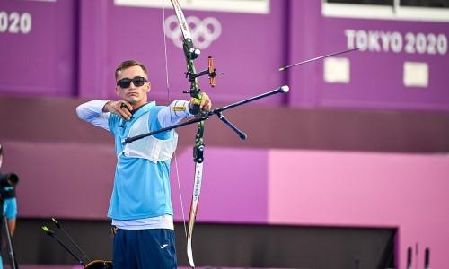 Казахстанский лучник стартовал с победы на Олимпиаде-2020