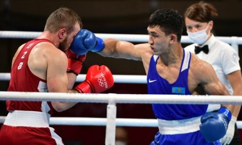 «Каждый выходит биться за себя». Абильхан Аманкул рассказал о победе над узбеком на Олимпиаде-2020 в свой День рождения