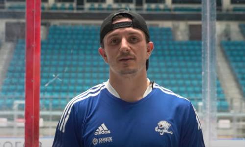 «Много классных парней». Канадский новичок прибыл в «Барыс» и дал интервью после тренировки. Видео
