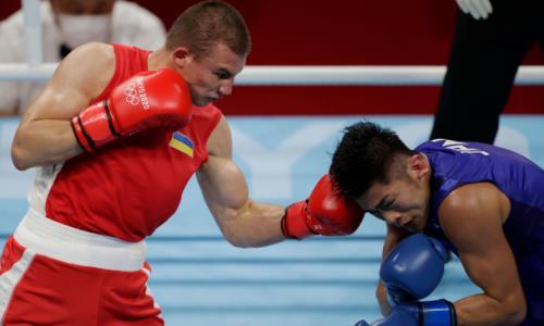 Фаворит боксерского турнира Олимпиады-2020в весе Аманкула неоставил шансов японцу