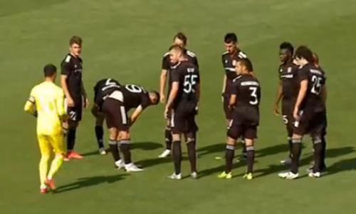 «Шахтер» ведет против ФКСБ после первого тайма матча Лиги Конференций