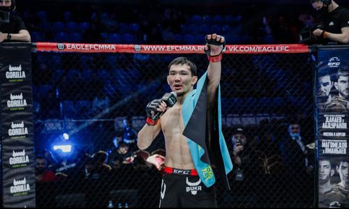 Промоушн Хабиба Нурмагомедова анонсировал поединок казахстанского бойца с серией из четырех побед подряд