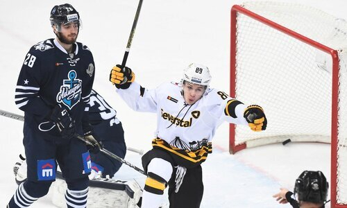 Соперник «Барыса» по Востоку КХЛ провел контрольный матч с «Северсталью»