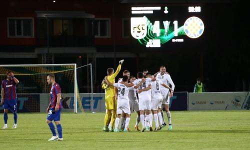 «Тобол» первым после «Интера» нанес крупное поражение «Хайдуку» в Европе