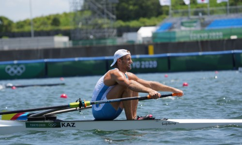 Казахстанский гребец завершил выступление на Олимпиаде-2020 в Токио