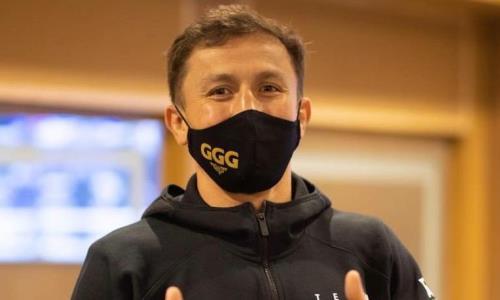 Головкин поддержал казахстанского боксера перед боем с «Пантерой»