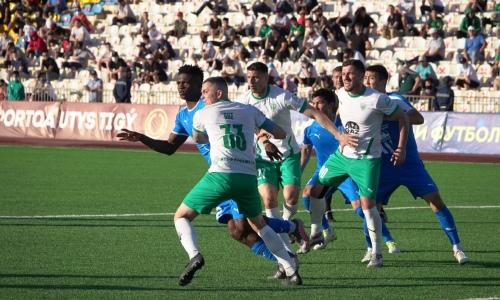 Прямая трансляция матча Кубка Казахстана «Тараз» — «Атырау»