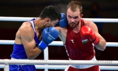 «Шедевральная двоечка» казахстанского боксера в бою с узбеком вызвала восторг на Олимпиаде-2020