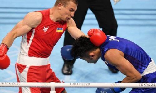 «Парень раскачивается». Усик оценил победный старт фаворита боксерского турнира Олимпиады-2020 в весе Аманкула