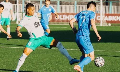 В матче Кубка Казахстана после форс-мажора был забит победный гол и добавлено 17 минут