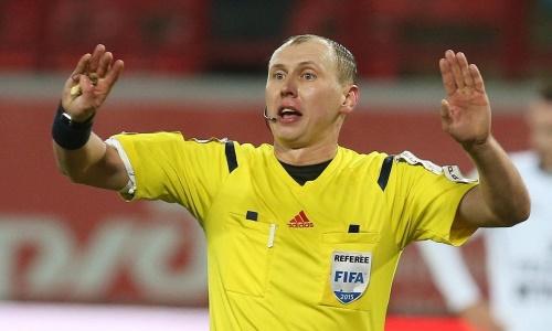 Стали известны рефери матча «Тобол» — «Жилина» в Лиге Конференций
