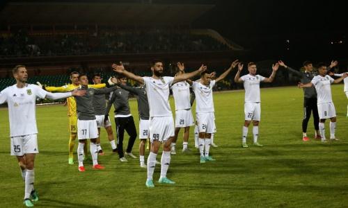 Опубликована заявка «Тобола» на матчи с «Жилиной» в Лиге Конференций